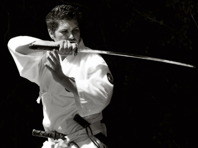 Korean Sword Training - Photo by Robert Couse-Baker used under Creative Commons license.